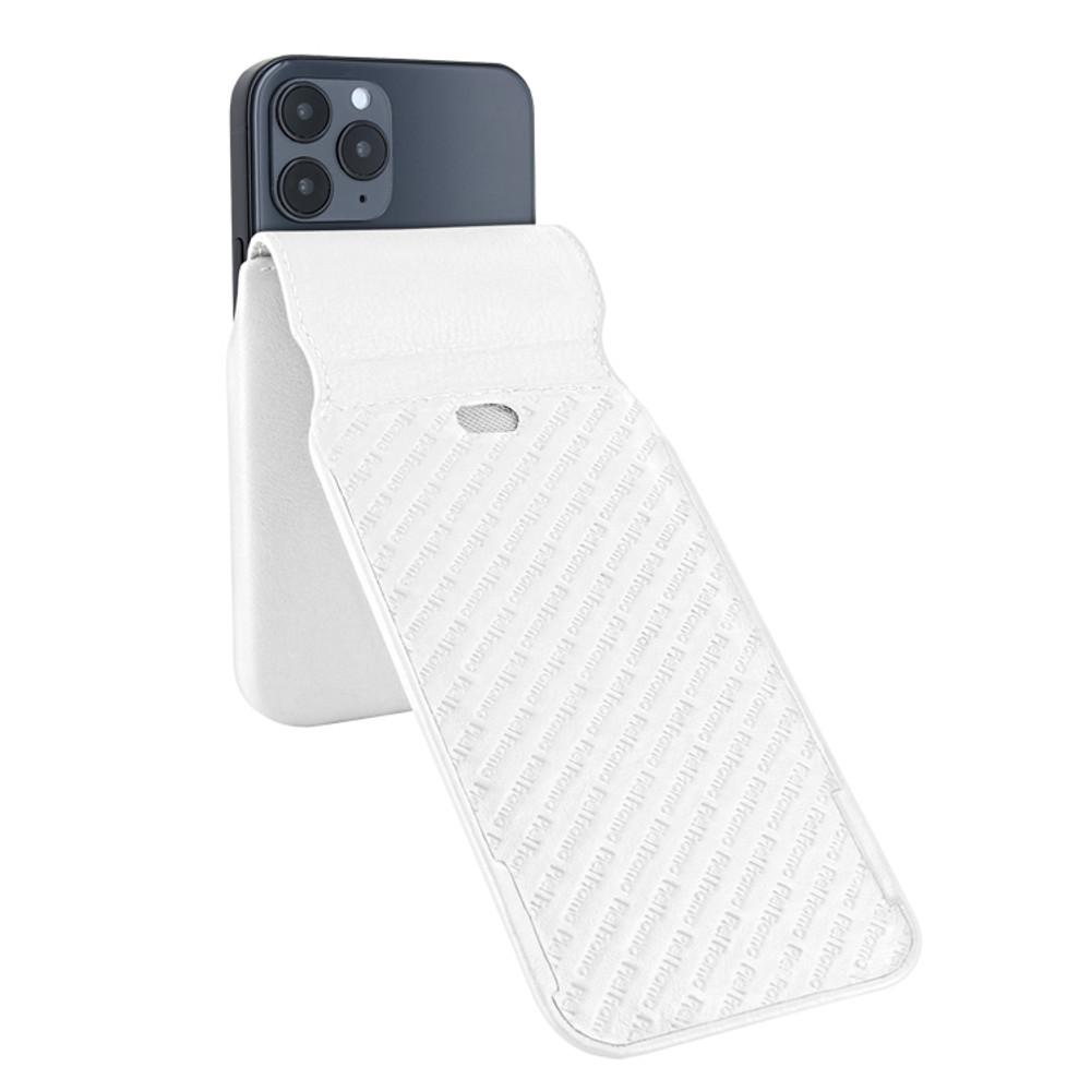 Piel Frama iPhone 12 Pro Max iMagnum Leather Case - White