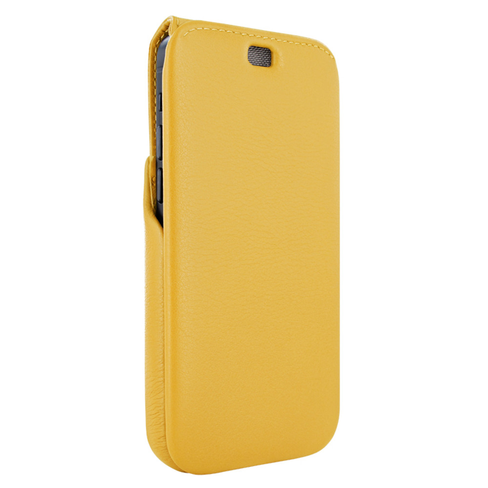 Piel Frama iPhone 12 Pro Max iMagnum Leather Case - Yellow