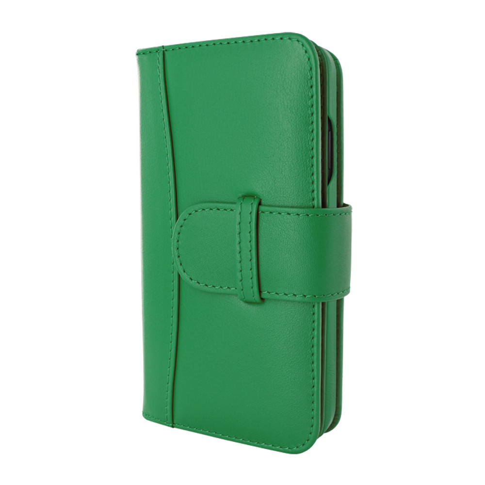 Piel Frama iPhone 12 Pro Max WalletMagnum Leather Case - Green