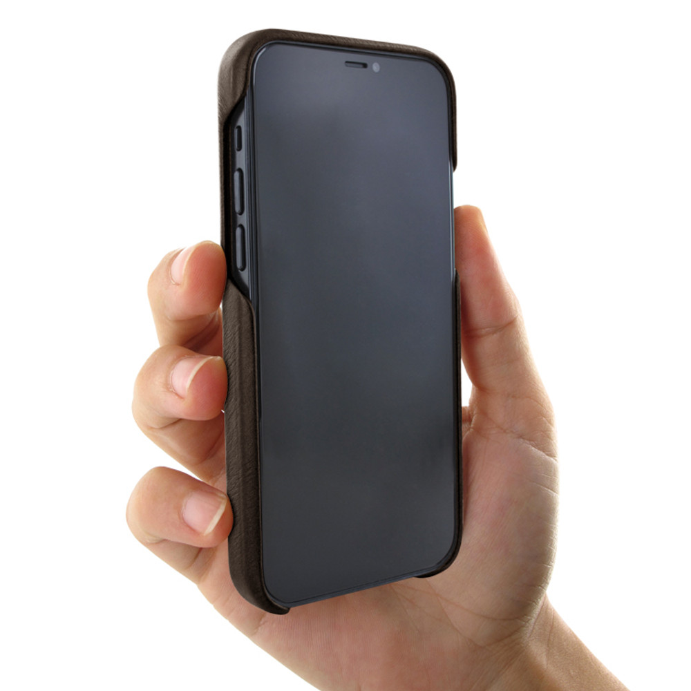 Piel Frama iPhone 12 mini FramaSlimgrip Leather Case - Brown