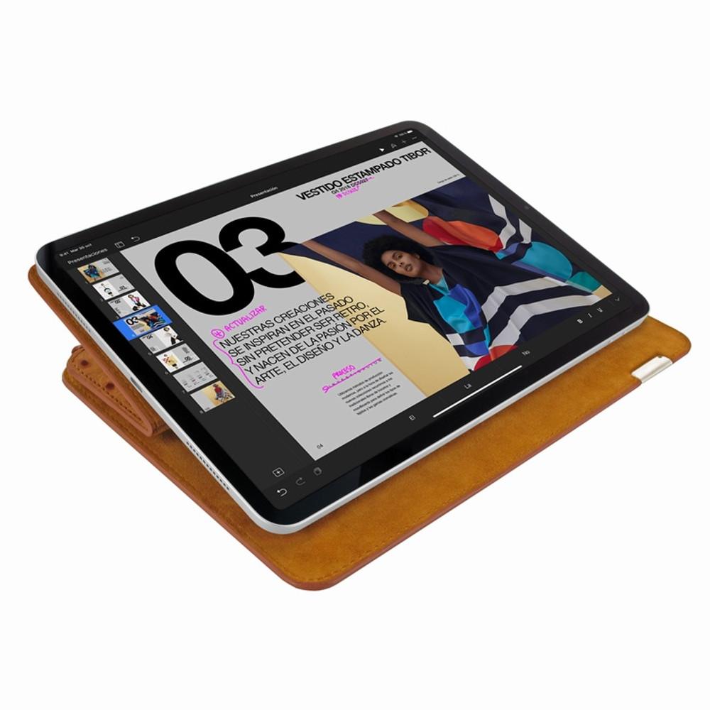 Piel Frama iPad Pro 11 2018 | Air 2020 FramaSlim Leather Case - Tan Ostrich