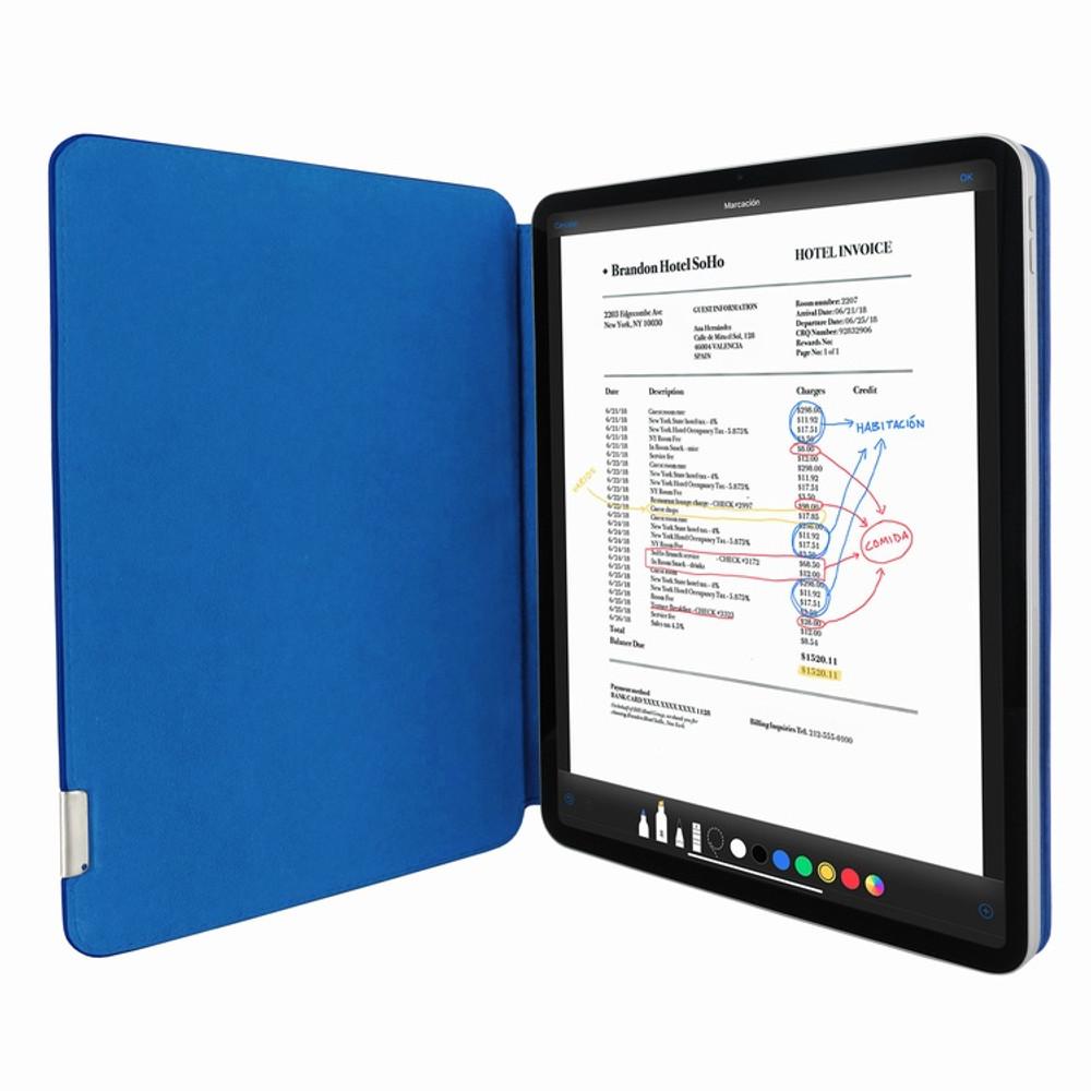 Piel Frama iPad Pro 11 2020   2021 FramaSlim Leather Case - Blue