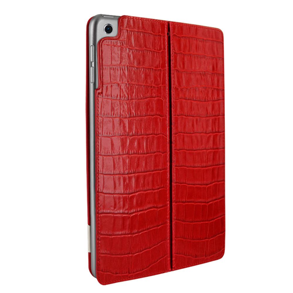 Piel Frama iPad Air 2019   iPad 10.2 2019 FramaSlim Leather Case - Red Crocodile