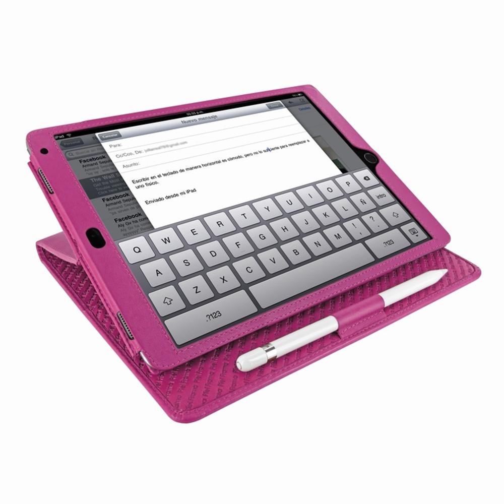 Piel Frama iPad Air 2019 | iPad 10.2 2019 Cinema Leather Case - Pink
