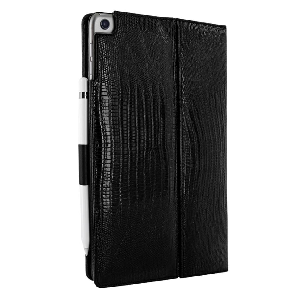 Piel Frama iPad Air 2019 | iPad 10.2 2019 Cinema Leather Case - Black Lizard