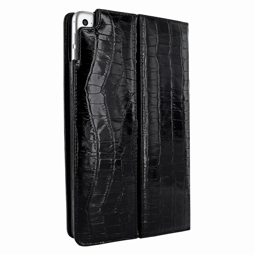Piel Frama iPad Mini 4 Cinema Leather Case - Black Cowskin-Crocodile