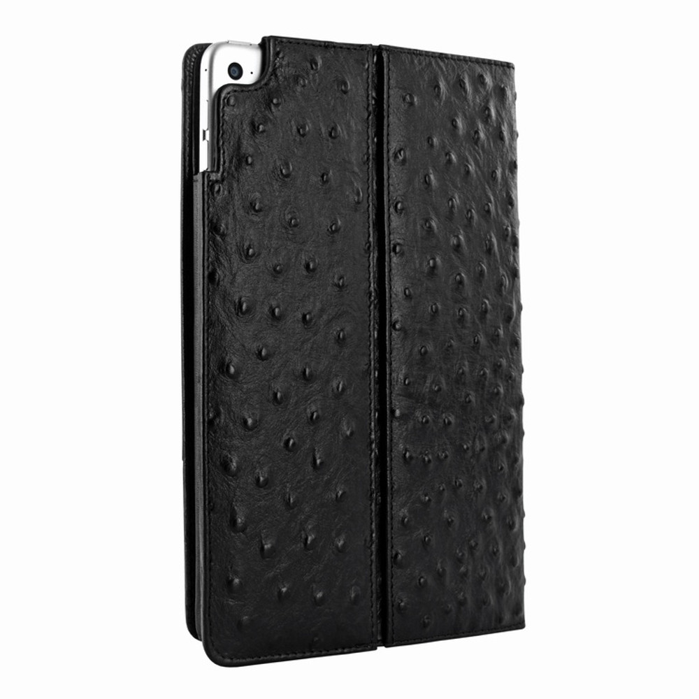 Piel Frama iPad Mini 4 Cinema Leather Case - Black Cowskin-Ostrich
