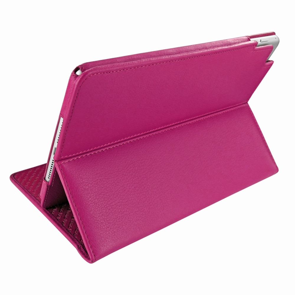 Piel Frama iPad Mini 4 Cinema Leather Case - Fuchsia