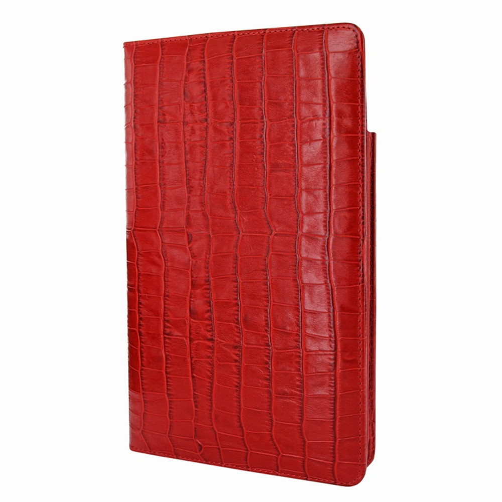 Piel Frama iPad Mini 4 Cinema Leather Case - Red Cowskin-Crocodile