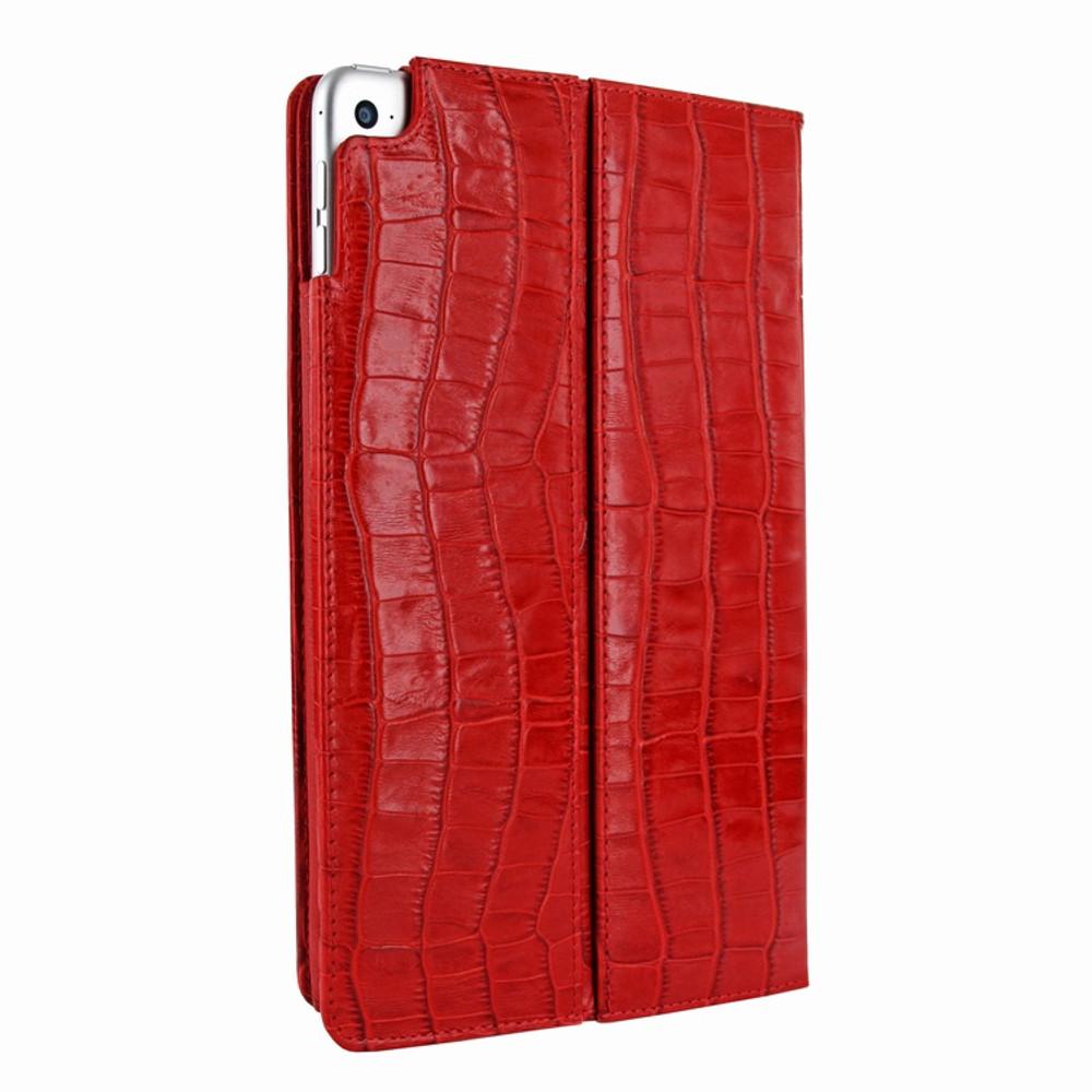 Piel Frama iPad Mini 4 Cinema Leather Case - Red Cowskin-Crocodile
