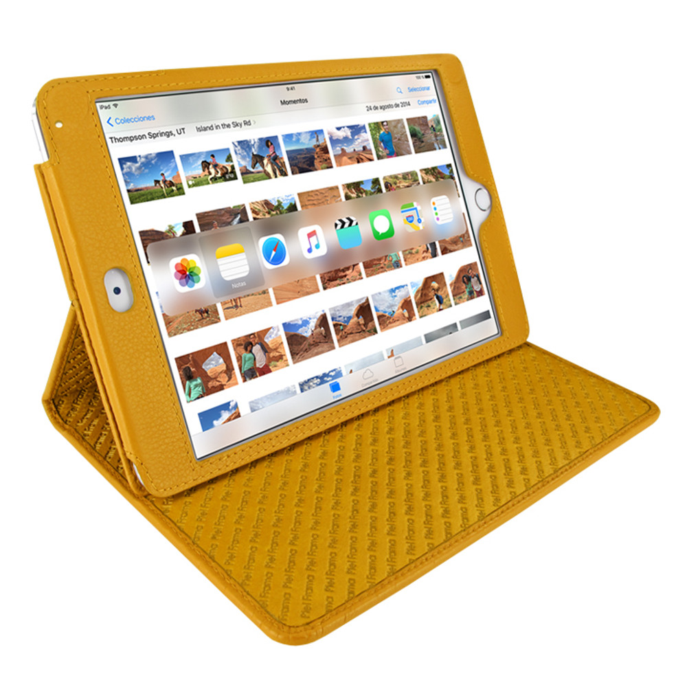 Piel Frama iPad Mini 4 Cinema Leather Case - Yellow
