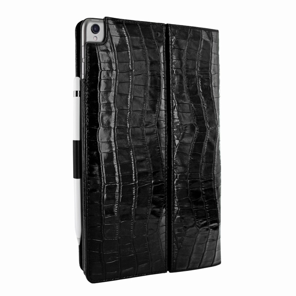 Piel Frama iPad Pro 10.5 Cinema Leather Case - Black Cowskin-Crocodile