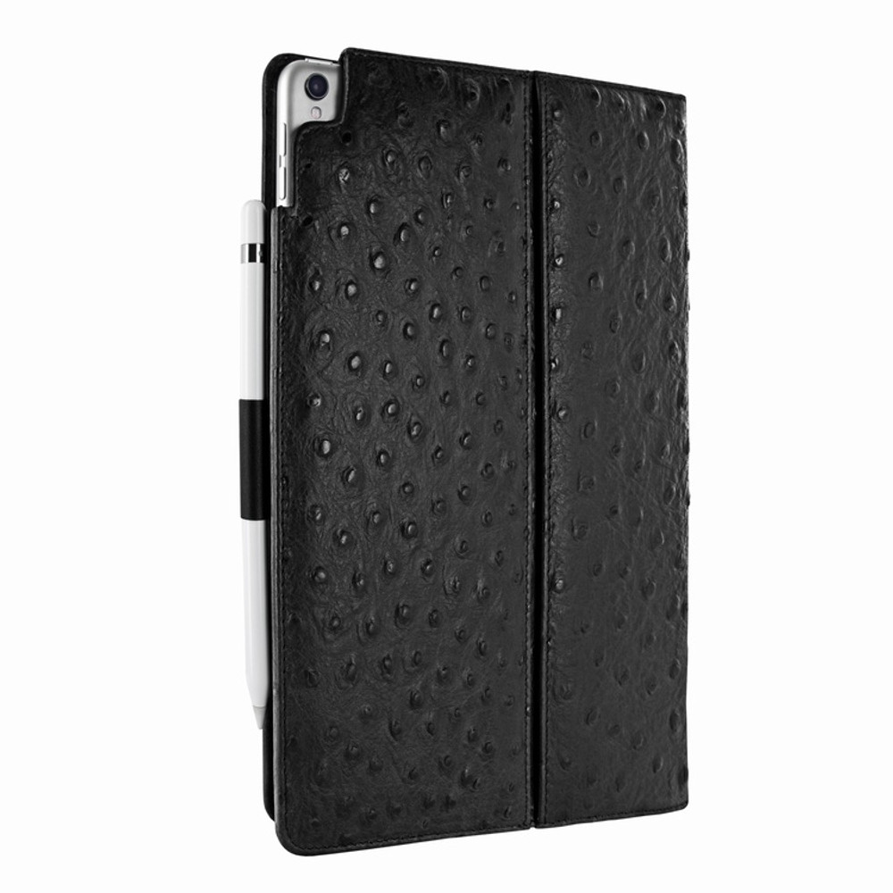 Piel Frama iPad Pro 10.5 Cinema Leather Case - Black Cowskin-Ostrich