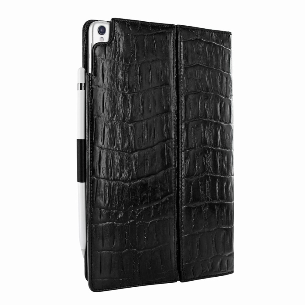 Piel Frama iPad Pro 10.5 Cinema Leather Case - Black Wild Cowskin-Crocodile