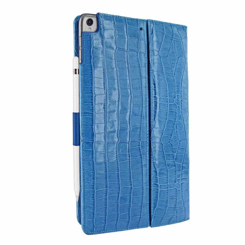 Piel Frama iPad Pro 10.5 Cinema Leather Case - Blue Cowskin-Crocodile