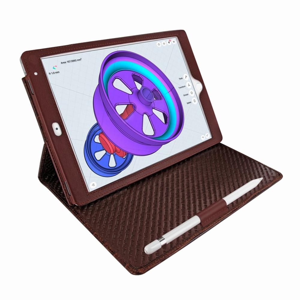Piel Frama iPad Pro 10.5 Cinema Leather Case - Brown Cowskin-Crocodile