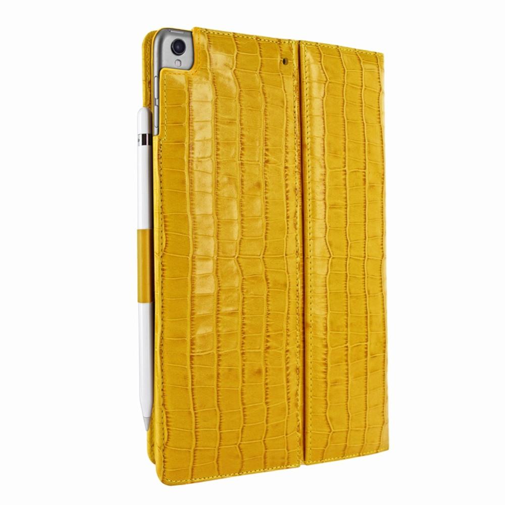 Piel Frama iPad Pro 10.5 Cinema Leather Case - Yellow Cowskin-Crocodile