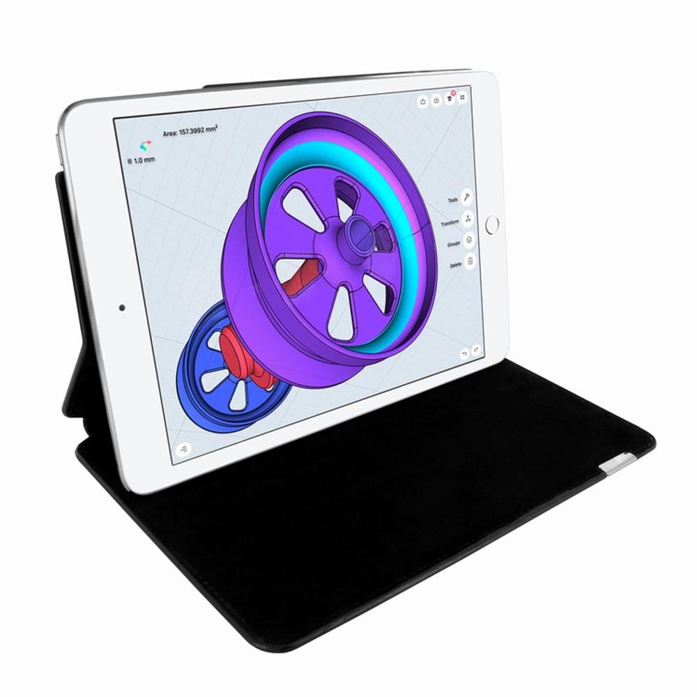 Piel Frama iPad Pro 10.5 FramaSlim Leather Case - Black Cowskin-Crocodile