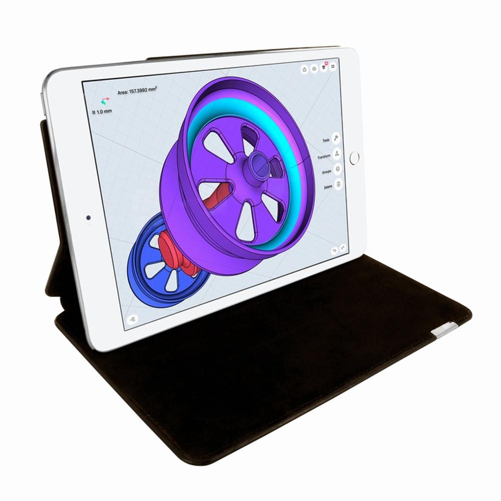 Piel Frama iPad Pro 10.5 FramaSlim Leather Case - Brown Cowskin-Crocodile
