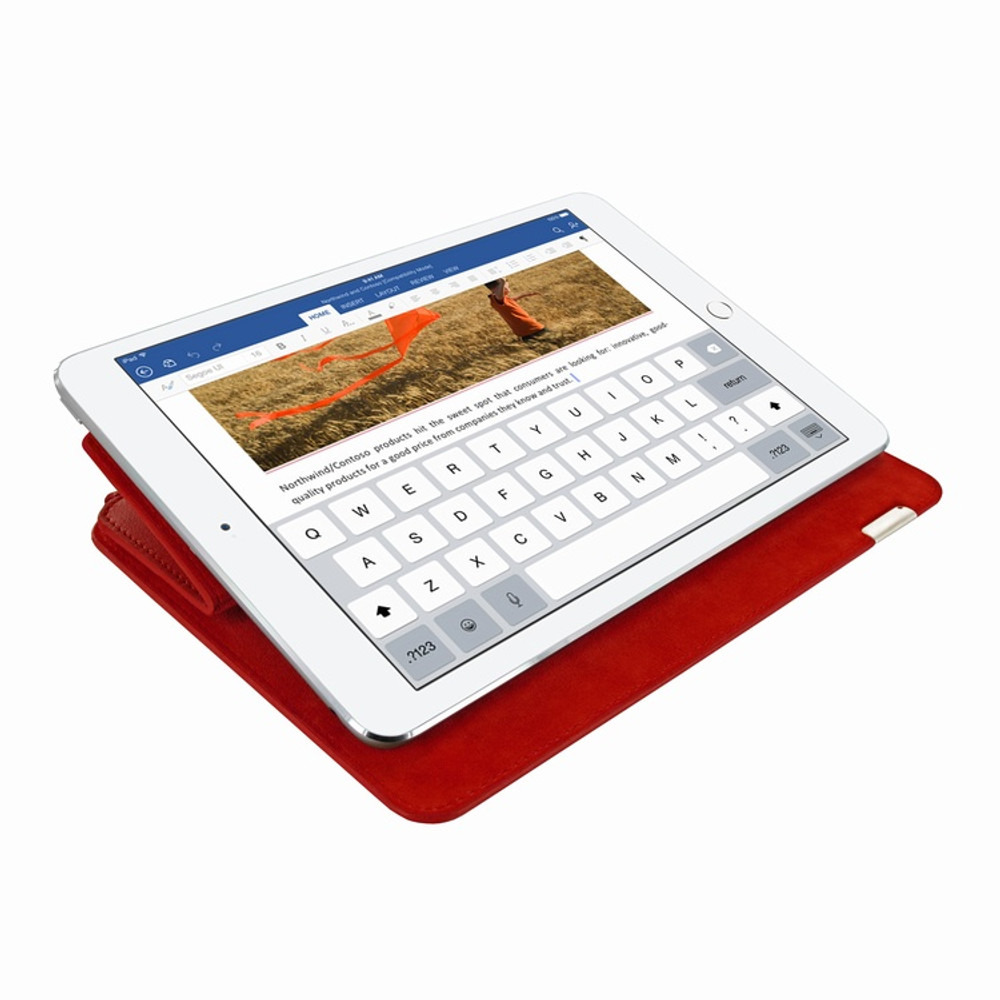 Piel Frama iPad Pro 10.5 FramaSlim Leather Case - Red