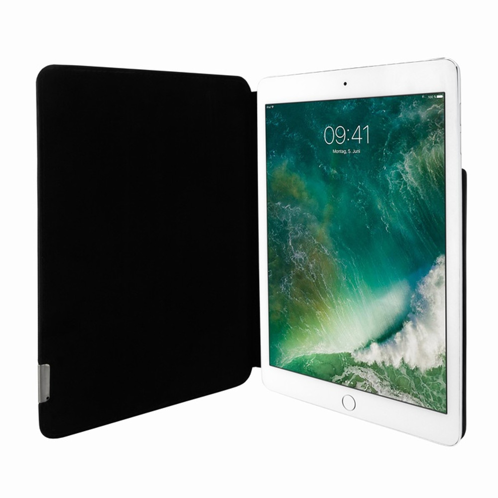 Piel Frama iPad Pro 12.9 2017 FramaSlim Leather Case - Black Cowskin-Ostrich