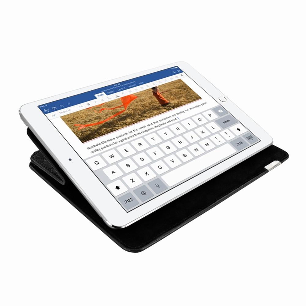 Piel Frama iPad Pro 12.9 2017 FramaSlim Leather Case - Black Cowskin-Ostrich