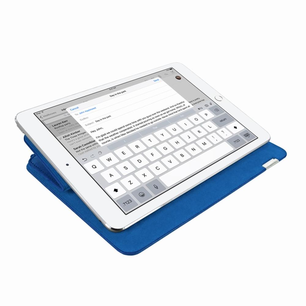 Piel Frama iPad Pro 12.9 2017 FramaSlim Leather Case - Blue