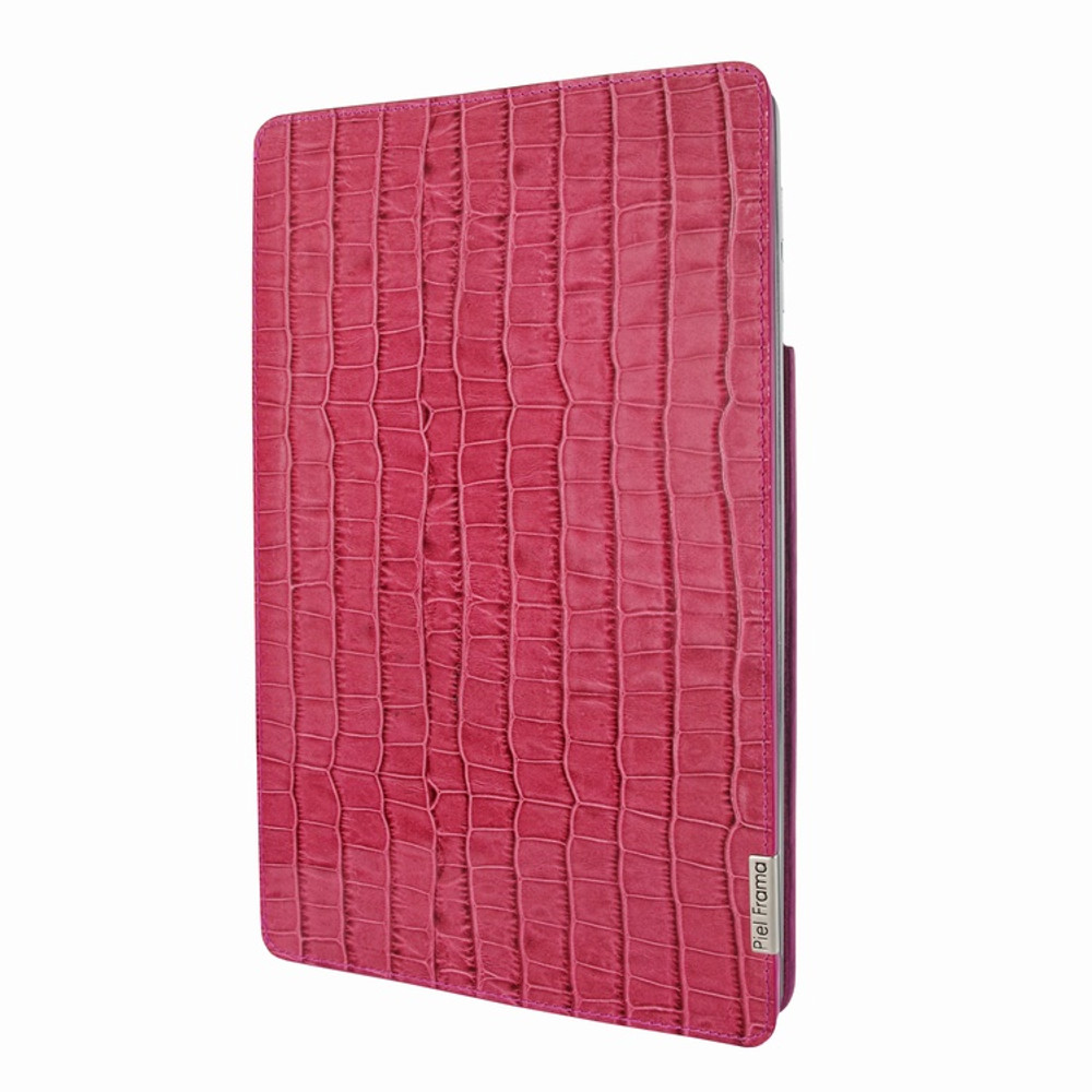 Piel Frama iPad Pro 12.9 2017 FramaSlim Leather Case - Fuchsia Cowskin-Crocodile