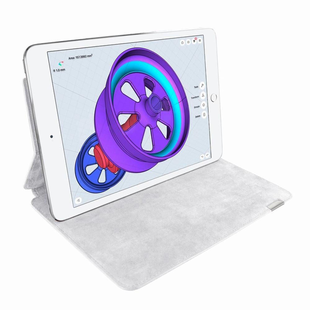 Piel Frama iPad Pro 12.9 2017 FramaSlim Leather Case - White