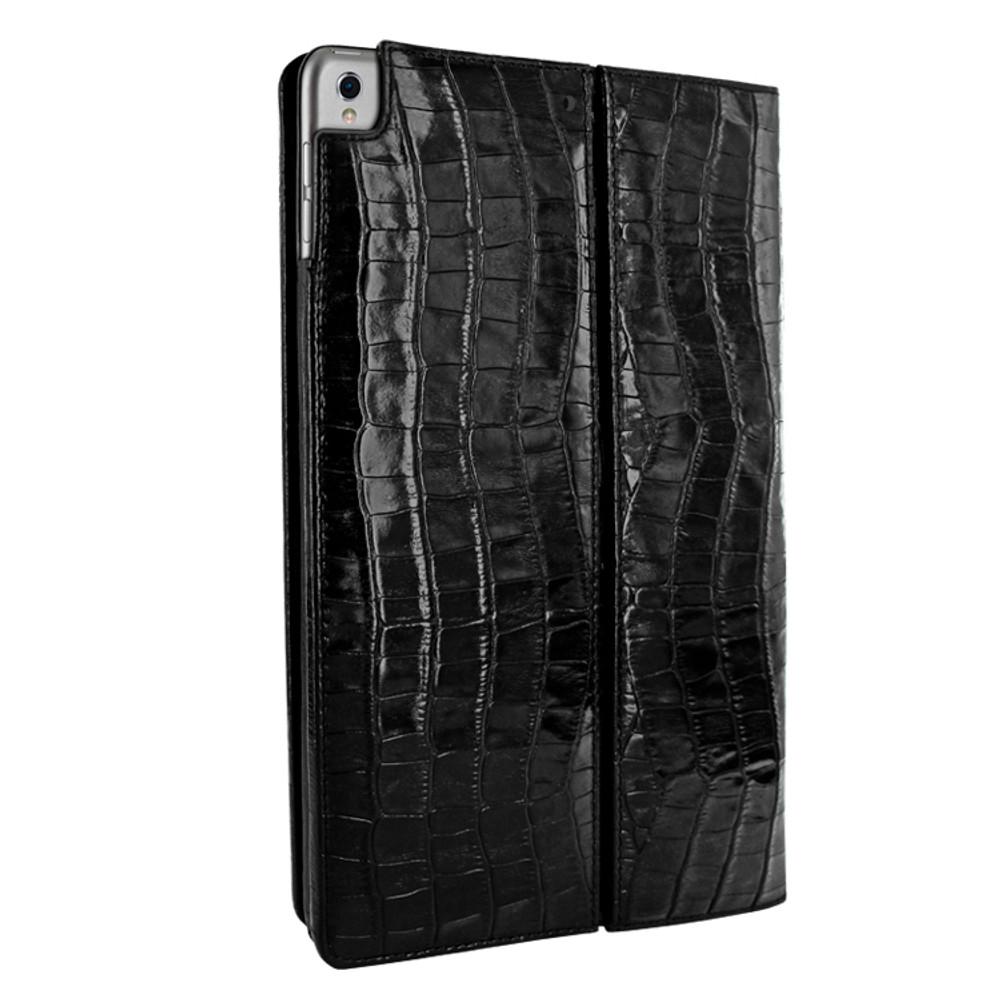Piel Frama iPad Pro 12.9 2017 Cinema Leather Case - Black Cowskin-Crocodile
