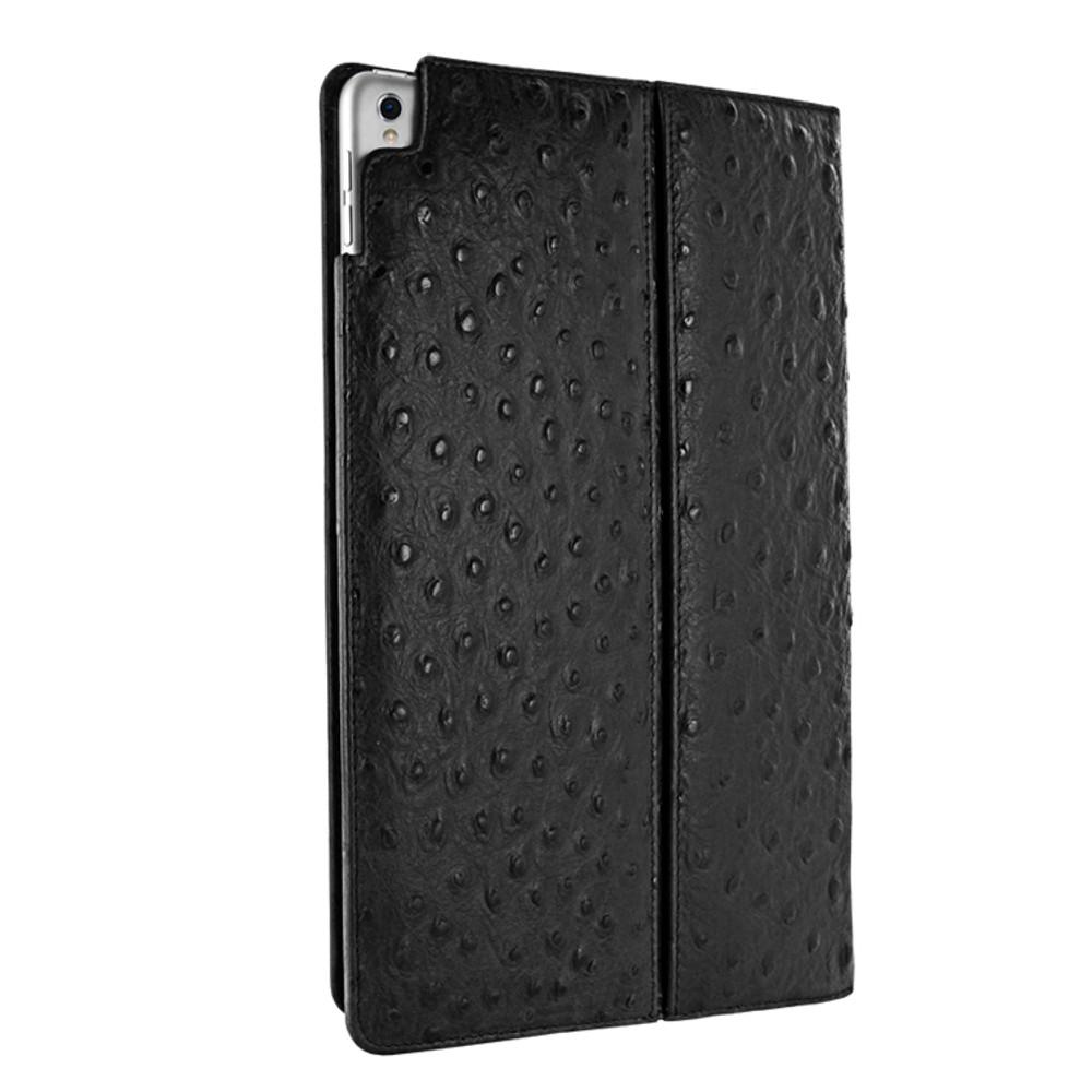 Piel Frama iPad Pro 12.9 2017 Cinema Leather Case - Black Cowskin-Ostrich