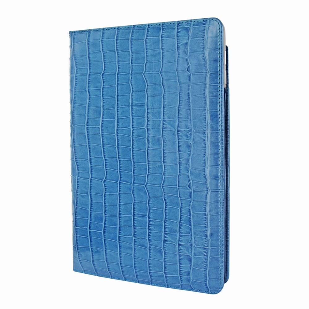 Piel Frama iPad Pro 12.9 2017 Cinema Leather Case - Blue Cowskin-Crocodile
