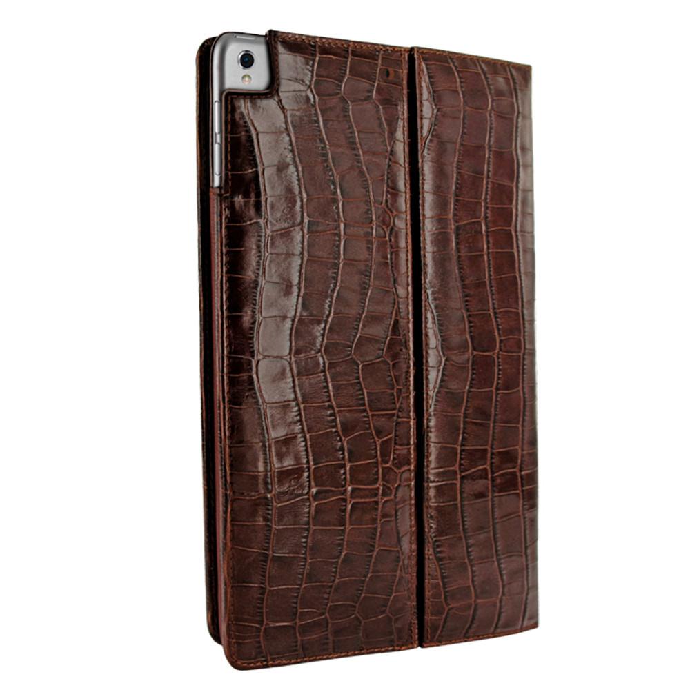 Piel Frama iPad Pro 12.9 2017 Cinema Leather Case - Brown Cowskin-Crocodile