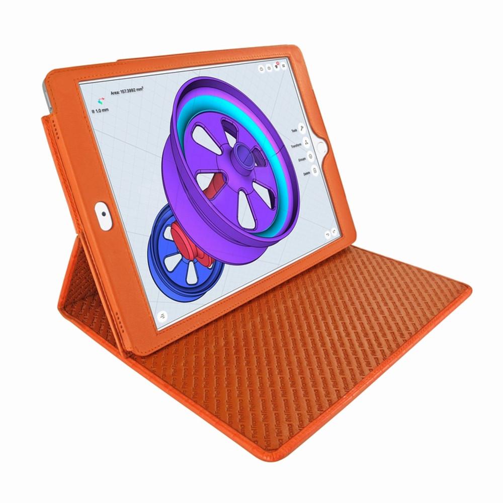 Piel Frama iPad Pro 12.9 2017 Cinema Leather Case - Orange Cowskin-Crocodile