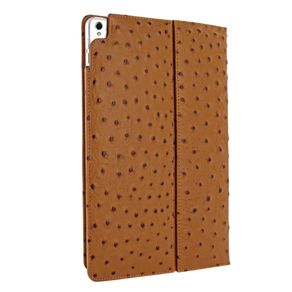 Piel Frama iPad Pro 12.9 2017 Cinema Leather Case - Tan Cowskin-Ostrich