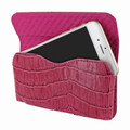 Piel Frama iPhone 6 Plus / 6S Plus / 7 Plus / 8 Plus Horizontal Pouch Leather Case - Fuchsia Cowskin-Crocodile