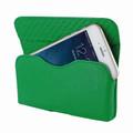 Piel Frama iPhone 6 Plus / 6S Plus / 7 Plus / 8 Plus Horizontal Pouch Leather Case - Green