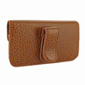 Piel Frama iPhone 6 Plus / 6S Plus / 7 Plus / 8 Plus Horizontal Pouch Leather Case - Tan iForte