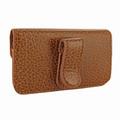 Piel Frama iPhone 6 Plus / 6S Plus / 7 Plus / 8 Plus Horizontal Pouch Leather Case - Tan iForte