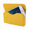 Piel Frama iPhone 6 Plus / 6S Plus / 7 Plus / 8 Plus Horizontal Pouch Leather Case - Yellow
