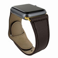 Piel Frama Apple Watch 38 mm Leather Strap - Brown / Gold Adapter