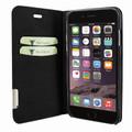 Piel Frama iPhone 7 / 8 FramaSlimCards Leather Case - Black