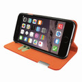 Piel Frama iPhone 7 / 8 FramaSlimCards Leather Case - Orange
