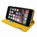Piel Frama iPhone 7 / 8 FramaSlimCards Leather Case - Yellow
