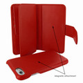 Piel Frama iPhone 7 / 8 WalletMagnum Leather Case - Red