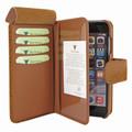 Piel Frama iPhone 7 / 8 WalletMagnum Leather Case - Tan iForte