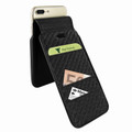 Piel Frama iPhone 7 Plus / 8 Plus iMagnumCards Leather Case - Black
