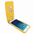 Piel Frama iPhone 7 Plus / 8 Plus iMagnumCards Leather Case - Yellow