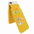 Piel Frama iPhone 7 Plus / 8 Plus iMagnumCards Leather Case - Yellow