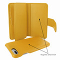 Piel Frama iPhone 7 Plus / 8 Plus WalletMagnum Leather Case - Yellow